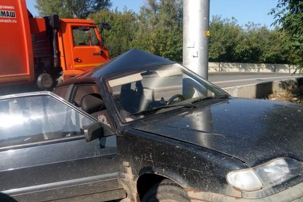 О состоянии здоровья водителя пока не сообщается