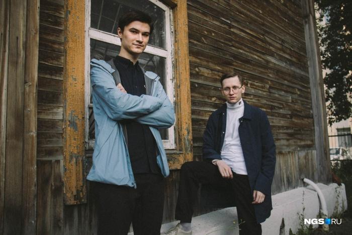 Саша Макеев (слева) и Артём Черепанов (справа)