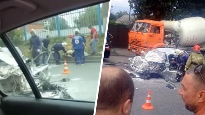 В ДТП возле ростовского зоопарка погиб один человек