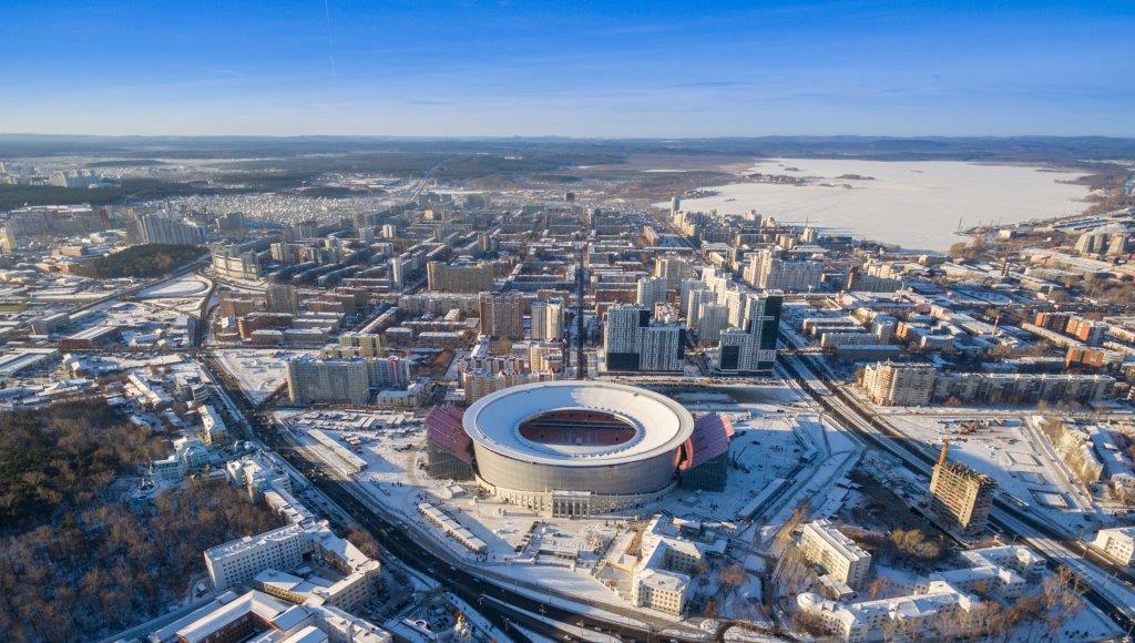 Первая игра на стадионе состоится 1 апреля