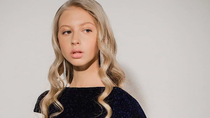Школьница из Красноярска с необычным именем вошла в топ самых красивых детей страны