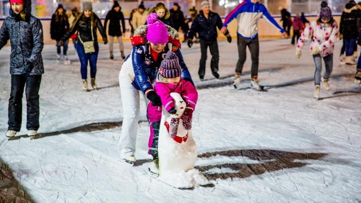 В Ярославле зимой откроют 20 бесплатных катков: адреса