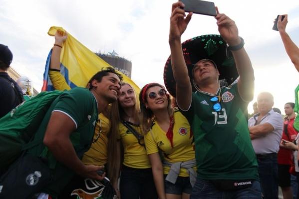 В день первого матча в Ростове фан-зону посетили 67 тысяч человек