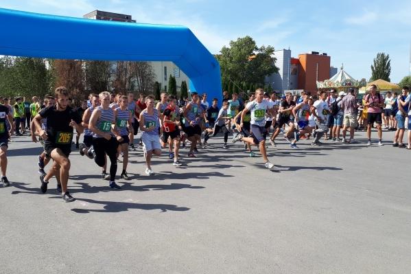 Волгоградские бегуны освоили новую трассу