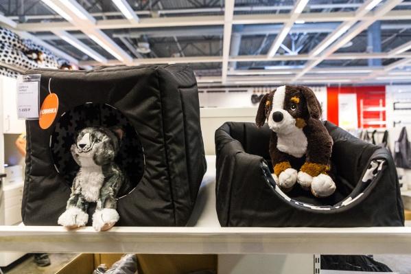 С апреля в Новосибирске продаются товары для домашних животных от ИКЕА