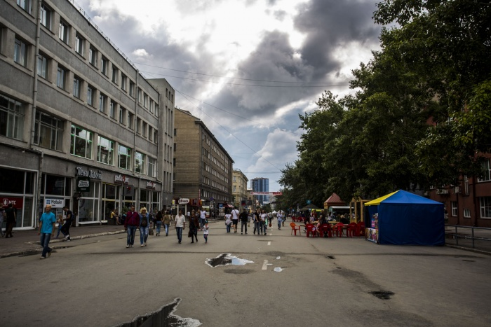 Некоторые горожане остались недовольны пешеходной зоной на ул. Ленина