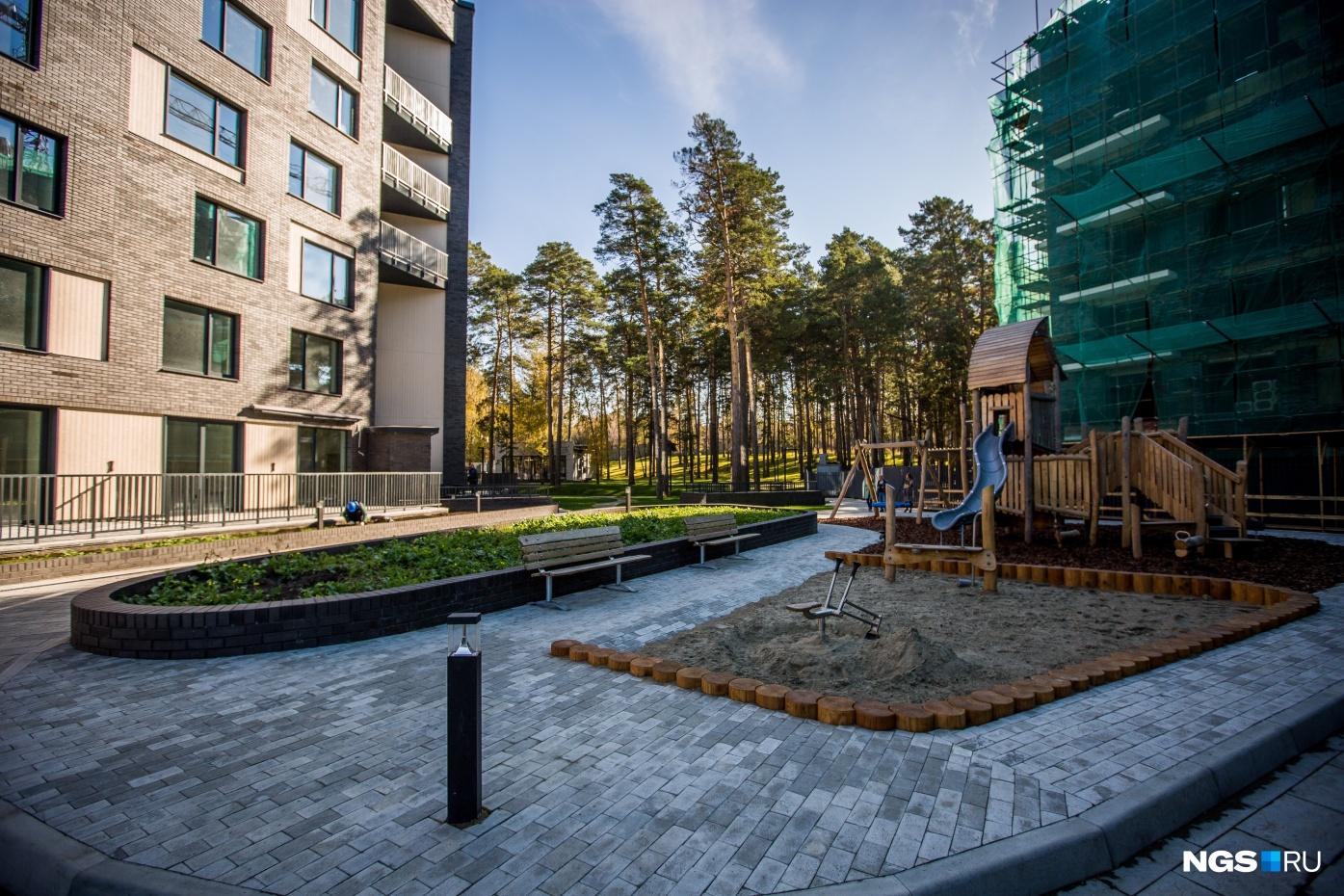 В комплексе Flora&Fauna поставили импортный игровой комплекс — такие же стоят в Диснейленде