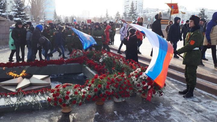 «Навечно в наших сердцах!»: в Самаре почтили память жителей и защитников блокадного Ленинграда