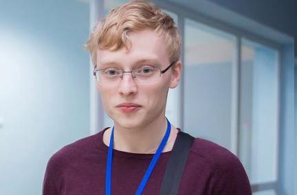 Никита Добронравов — выпускник лицея № 130  им. М.А. Лаврентьева