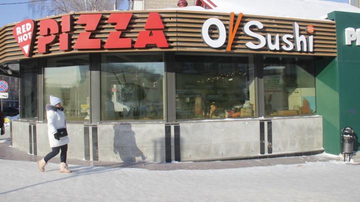 На месте закрытого итальянского кафе на Студенческой открылась пиццерия и суши-бар