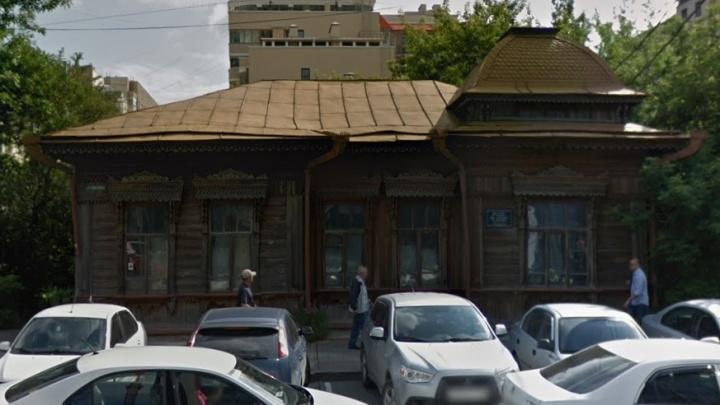 Рядом со старинным деревянным домом на Розы Люксембург построят шестиэтажный офисник