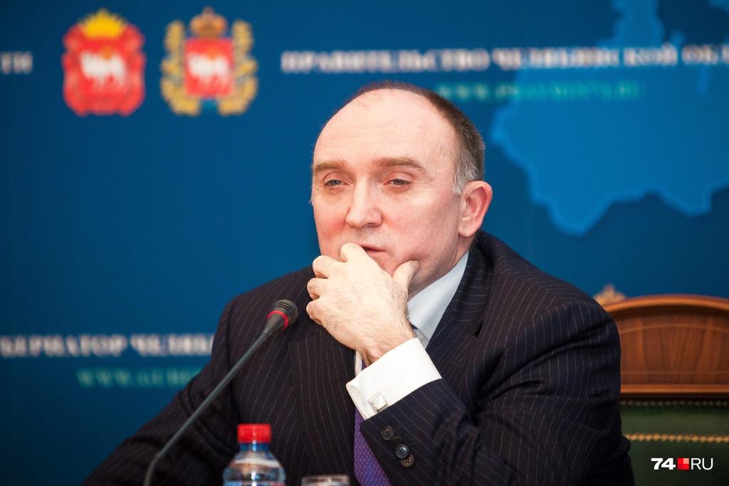 Накануне выборов Борис Дубровский решил заручиться поддержкой партии