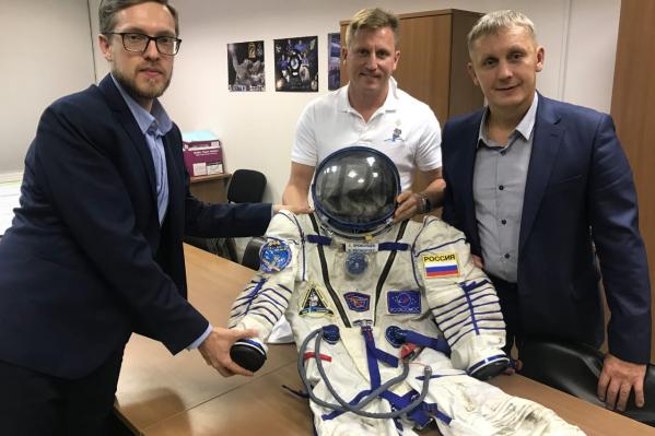 Скафандр уже передали для экспозиции Екатеринбургскому планетарию
