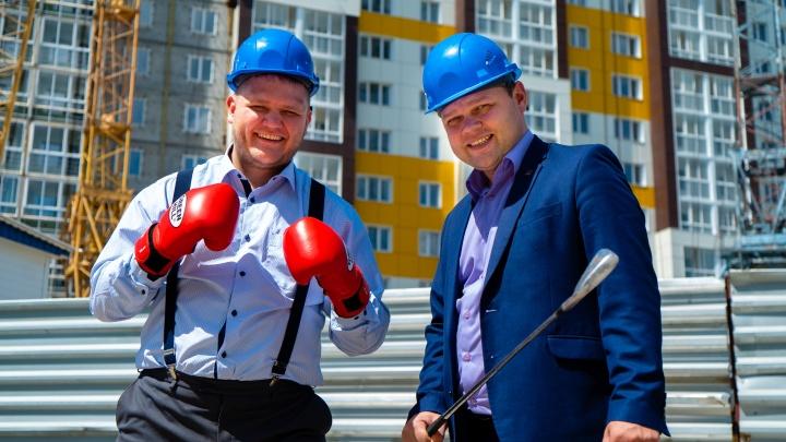 Новосибирский застройщик пообещал побриться налысо, если не построит дом за 2 месяца