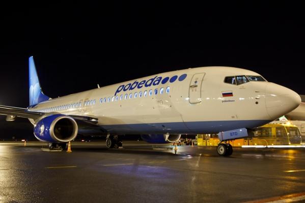 Авиакомпания «Победа» будет летать из Новосибирска в Красноярск за 999 руб.