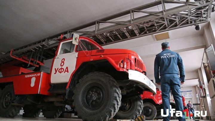 В Уфе загорелась многоэтажка: эвакуировали 12 человек
