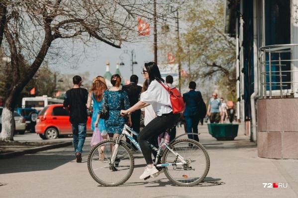 В Тюмени будет по-летнему тепло