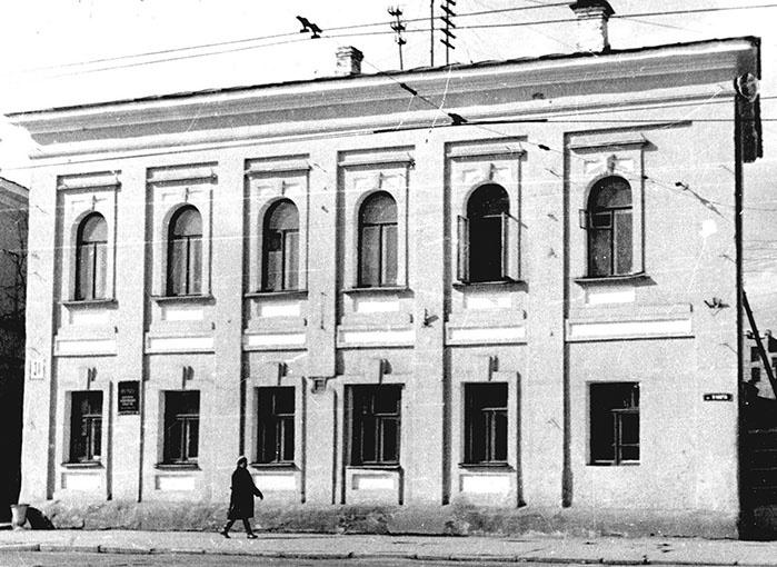 Когда-то здание было таким