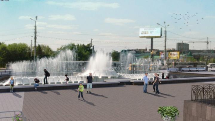 В Омске благоустроят 13 объектов. Среди них — Театральная площадь, Советский парк и бульвар Победы