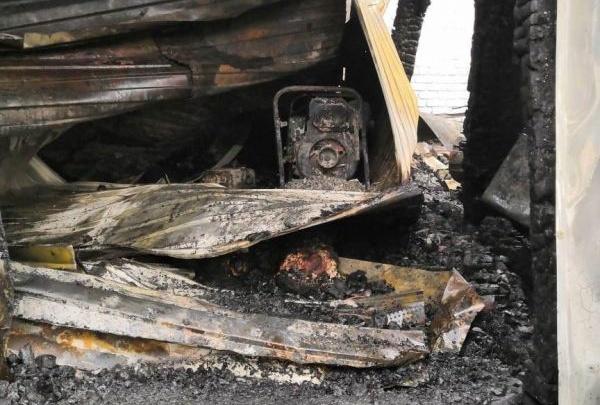 В пожаре на станции Безенчук погиб работник железной дороги