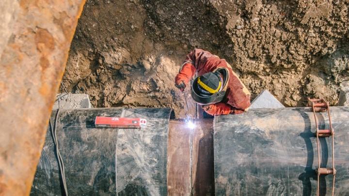 В 110 домах похолодает: в Самаре прорвало две теплотрассы