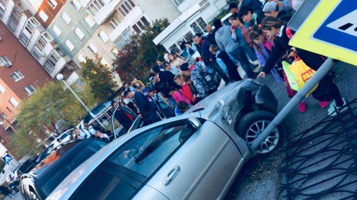 Водитель, протаранивший три автомобиля у сквера Победы, оказался любителем пьяной езды