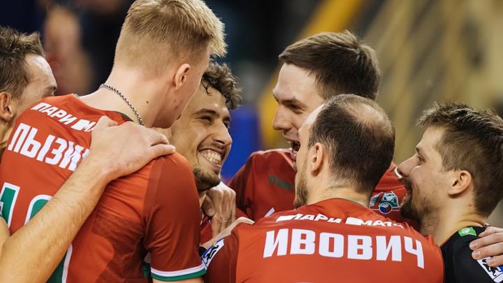 Волейболисты «Локомотива» обыграли команду «Кузбасс» из Кемерово
