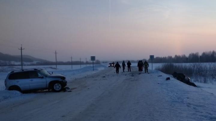 ДТП на встречной полосе: в Башкирии погибли четыре человека