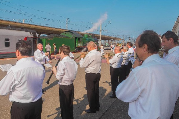 В Ярославле поезд будут встречать с оркестром