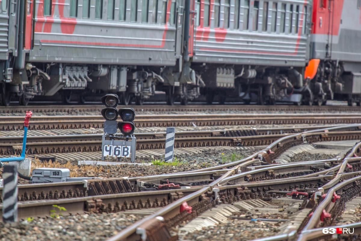 Поезд№107 до Санкт-Петербурга отправляется из Самары по нечетным числам