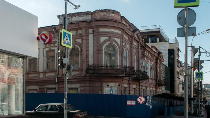 Снос стены редакции газеты «Приазовский край» оказался нужен для реконструкции здания