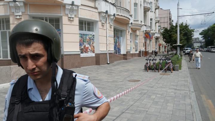 ЮФУ эвакуировали из-за сообщения о якобы заложенной бомбе