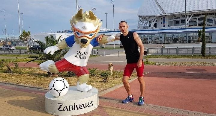 Трижды олимпийский волонтёр из Красноярска отправился в Сочи для помощи в организации ЧМ по футболу