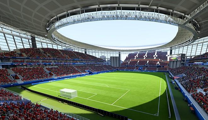 Любители компьютерных игр смогут сыграть в футбол на «Екатеринбург Арене»