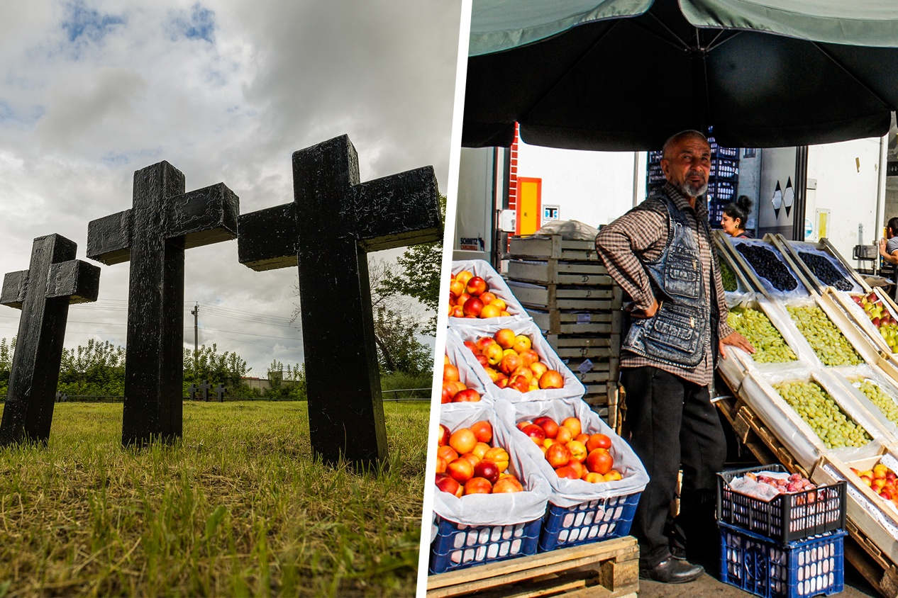 Между баней и чайханой. На Хилокском рынке обнаружилось кладбище нацистов