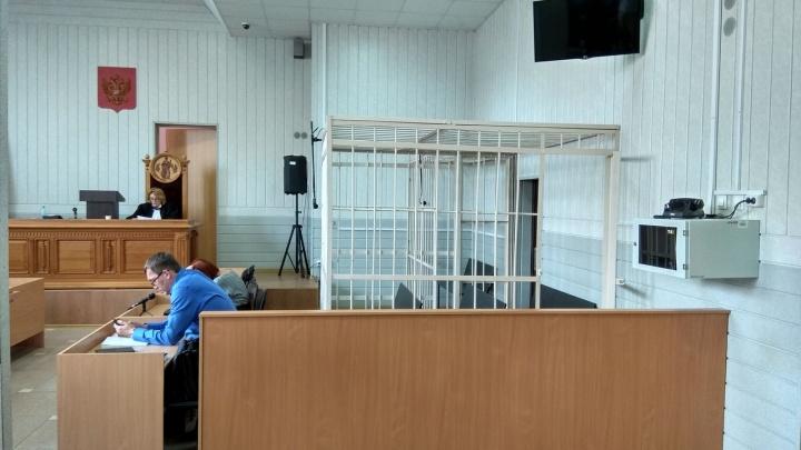 Радченко отказался слушать приговор и не вернулся в зал заседаний — суд идёт с пустой клеткой