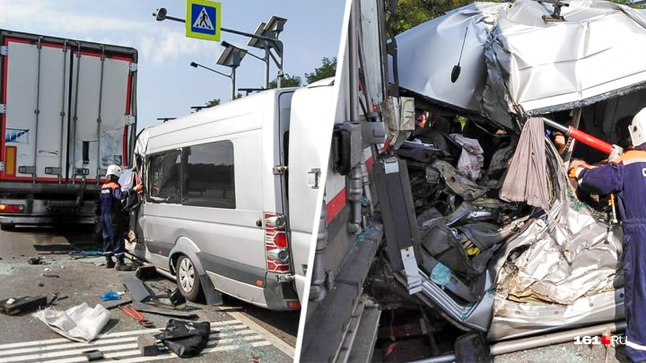 Два человека погибли в крупном ДТП с грузовиком в Ростовской области