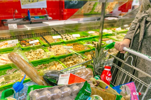 Некоторые жители Самарской области могут позволить себе как следует затариваться в супермаркетах