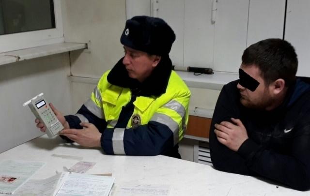 За сутки дорожные полицейские задержали в Башкирии 123 пьяных водителя