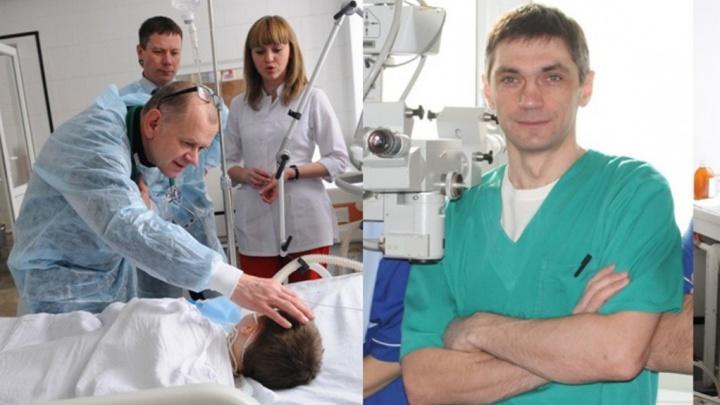 Пришивающий руки и пальцы врач из краевой стал заслуженным врачом России
