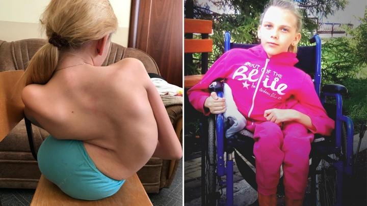 «Просто сложилась пополам»: многодетная мать из Башкирии в одиночку борется с болезнью дочери