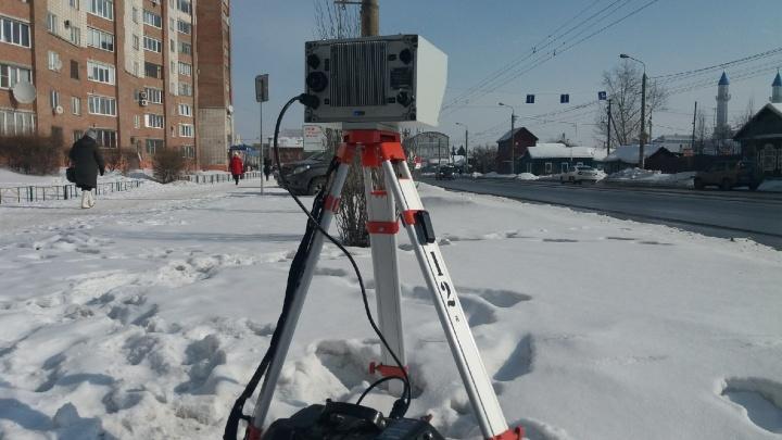 В ГИБДД рассказали, где сегодня установят камеры-треноги