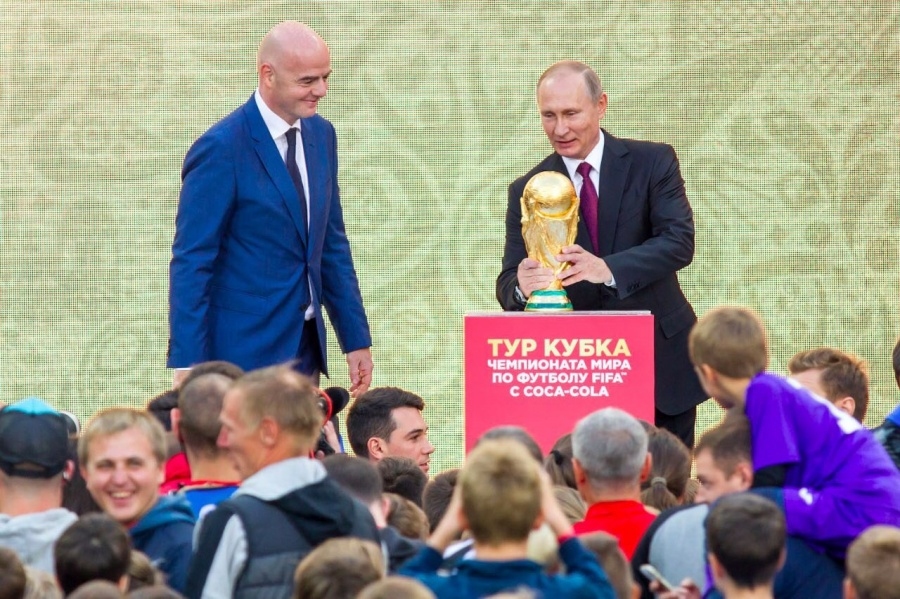 Екатеринбург будет первым городом, куда привезут кубокЧМ пофутболу