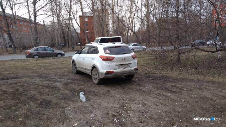 «Бывших газонов не бывает»: в мэрии уточнили правила борьбы с незаконными парковками