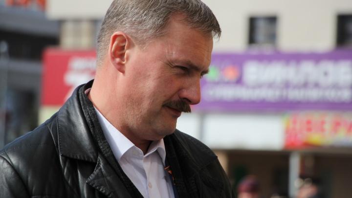 «Просим принять меры»: Игорь Годзиш пожаловался полиции на митингующих против пенсионной реформы