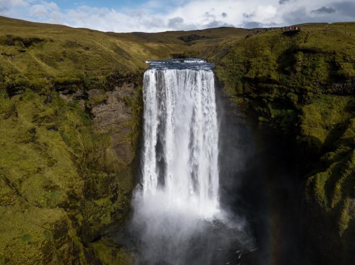 Пейзаж южной Исландии