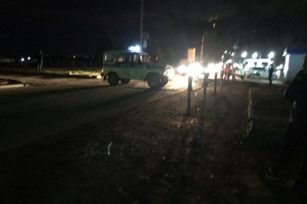 Из-за подозрительного устройства накануне вечером силовики перекрыли въезд в Шагол