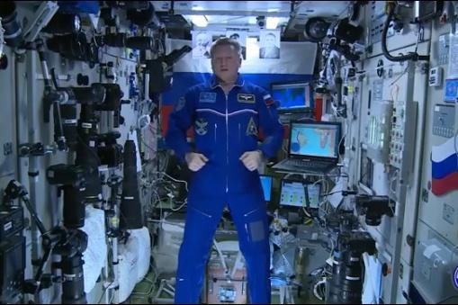 Космонавт проголосовал за имя для аэропорта с МКС