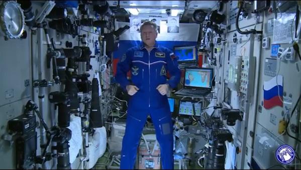 Космонавт Сергей Прокопьев выбрал имя для Кольцово и призвал всех тоже проголосовать