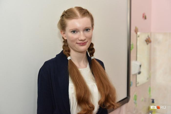 Вика Ерёмина говорит, что она не гуманитарий, хотя вошла в число призёров всероссийской олимпиады по искусству